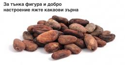 За тънка фигура и добро настроение яжте какаови зърна