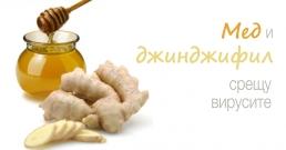 Мед и джинджифил срещу вирусите