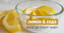 Комбинацията от лимон и сода може да спаси човешки живот