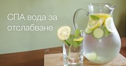 Изхвърлете мазнините от организма със СПА вода (рецепта)