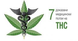 7 доказани медицински ползи на тетрахидроканабинол (THC)