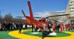 Уникална демонстрация – спасяват с хеликоптер тежко пострадала при производствен инцидент жена!