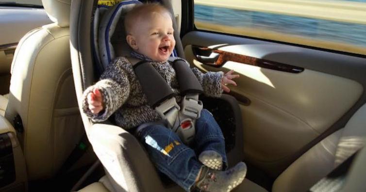 Ново пет: Возим бебетата само обратно на движението